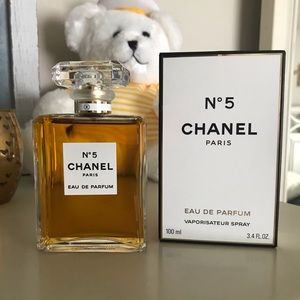 Authentic Chanel 5 Made in France 3.4 100 ml